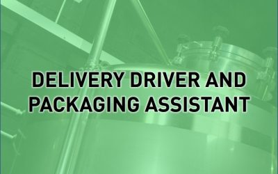 Packaging Assistant and Delivery Driver Required
