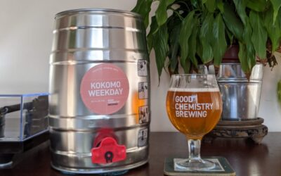 Mini-kegs are back for Bristol!