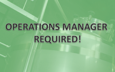 Join the team – Operations Manager required